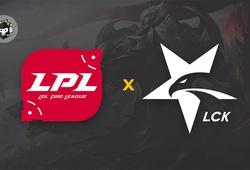 Lịch thi đấu Mid-Season Event: Đại chiến LCK vs LPL
