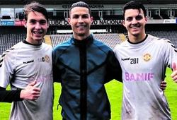 Thủ môn tuổi teen bị cấm tiết lộ tập luyện với Ronaldo