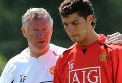 """Ronaldo là một trong 4 cầu thủ MU không khiến Ferguson """"nổi điên"""""""