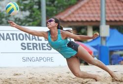 Eliza Chong - Thiên thần xinh đẹp của bóng chuyền bãi biển Singapore