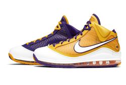 """Nike LeBron 7 """"Media Day"""": Bản phối Lakers tuyệt đẹp sẽ ra mắt vào cuối tuần này"""