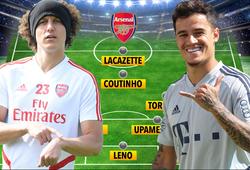 Đội hình Arsenal sẽ thế nào nếu 2 trụ cột ra đi và Coutinho đến?