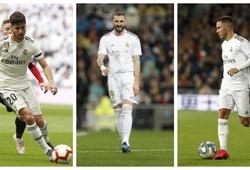 Đội hình Real Madrid với cây đinh ba mới khi La Liga trở lại