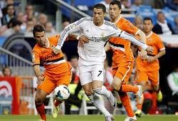 Ronaldo ghi bàn thắng bằng đánh gót gây phấn khích cách đây 6 năm