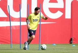 Barca bị nghi ngờ che giấu chấn thương của Messi trên sân tập
