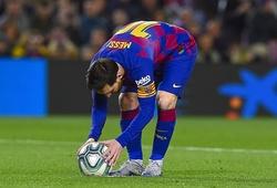 Messi lẽ ra không được trao phạt đền trong trận Barca vs Leganes?