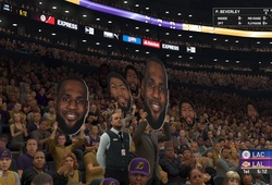 Sân đấu không khán giả của NBA sẽ sôi động nhờ trò chơi 2K