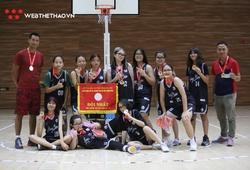 U15 nữ Long Biên Vô địch Giải Bóng rổ Học sinh Hè Hà Nội 2020