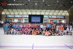 Chùm ảnh các đội nhận huy chương Giải BR Học sinh Hè Hà Nội 2020