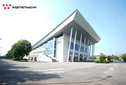 Mê ly với nhà thi đấu bóng rổ đẹp không kém sân VBA tại Lào Cai