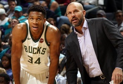New York Knicks định thuê HLV Jason Kidd để lôi kéo Antetokounmpo
