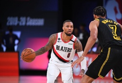 Damian Lillard vắng mặt ở game 5 vs Lakers