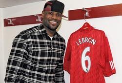 LeBron James ăn mừng chức Vô địch Premier League của Liverpool