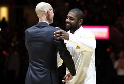 BTC NBA cứng rắn, sẵn sàng cho Kyrie Irving và các ngôi sao ngồi nhà