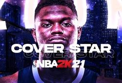 Zion Williamson trở thành cầu thủ trẻ nhất lịch sử lên bìa đĩa NBA 2K