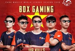 Tuyển thủ Box Gaming giành danh hiệu MVP của CKTG PUBG Mobile