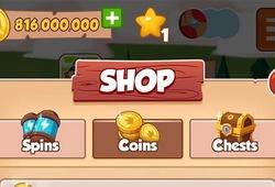Cách nạp tiền game Coin Master mua Spins mới nhất