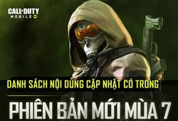 Call of Duty: Mobile Việt Nam chính thức cập nhật Season 7