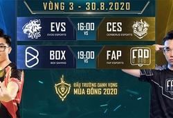 Kết quả Liên Quân Mobile hôm nay 30/8: BOX vs FAP