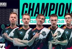 G2 nghiền nát Fnatic, trở thành nhà vô địch LEC Mùa Hè 2020