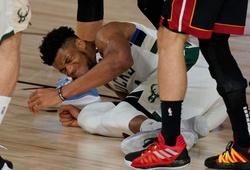 Giannis Antetokounmpo có thể không thi đấu game 4 với Miami Heat