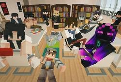 Cách tải map Minecraft Lớp Học Ma Sói của Jaki Natsumi