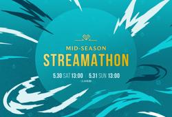 Trực tiếp Mid-Season Streamathon 2020, sự kiện thay thế MSI 2020