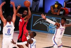 Dội cơn mưa gạch, Houston Rockets vẫn thắng game 2 trước OKC Thunder