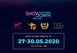 Lịch thi đấu Mid Season Showdown - VCS x PCS