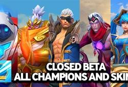 Danh sách tướng LMHT Tốc Chiến Closed Beta
