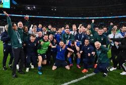 """Anh vs Ý: """"Tam sư"""" bao phủ Wembley nhưng châu Âu ủng hộ Azzurri"""