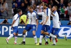 Italia biến đổi chóng mặt so với trận thắng Bỉ tại EURO 2016