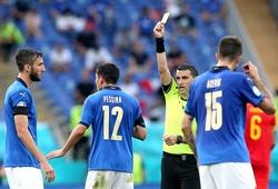 Italia có những cầu thủ nào bị đe dọa treo giò khi gặp Bỉ?