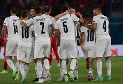 Italia của Mancini làm điều chưa từng có trong lịch sử trên đường vào bán kết EURO 2021