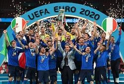 12 thống kê ngoạn mục của Italia sau khi vô địch châu Âu