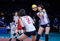 Bóng chuyền nữ Nhật Bản trở lại Top 4 VNL2021 sau trận thắng nghẹt thở