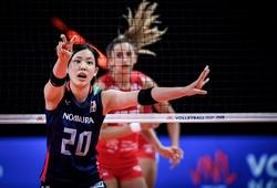Bóng chuyền nữ Nhật Bản lỡ hẹn chung kết VNL 2021