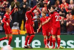 Đội hình Burnley gặp Liverpool với số áo hiếm hoi sau 22 năm