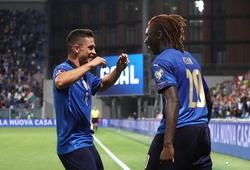 Italia ghi 5 bàn nhờ cặp tiền đạo sinh năm 2000