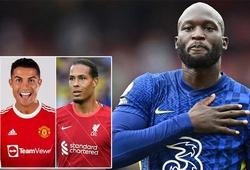 Lukaku được đánh giá quan trọng hơn Ronaldo và Van Dijk