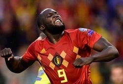 """Lukaku """"mắn"""" bàn thắng kinh ngạc với tuyển Bỉ thời Martinez"""