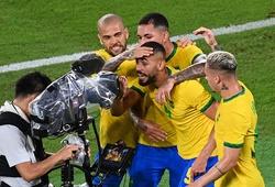 U23 Brazil bảo vệ thành công HCV Olympic sau 120 phút
