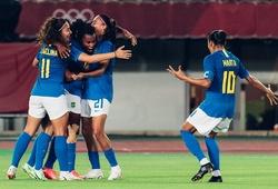 Marta của nữ Brazil áp sát kỷ lục ghi bàn mọi thời đại ở Olympic