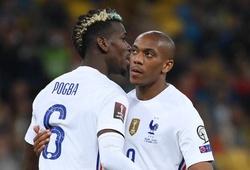 Martial ghi bàn đầu tiên cho tuyển Pháp sau... 5 năm