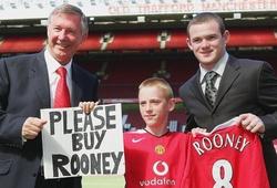 Hé lộ siêu phẩm Wayne Rooney ghi ở tuổi 12 nhân kỷ niệm 14 năm ra mắt ở Man Utd