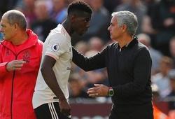 Thêm dấu hiệu thể hiện mối quan hệ giữa Pogba và Mourinho là không thể hàn gắn