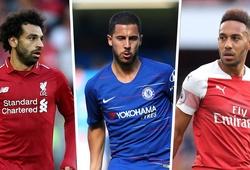 Salah, Hazard, Aubameyang, cầu thủ nào bỏ lỡ nhiều cơ hội nhất Ngoại hạng Anh 2018/19?