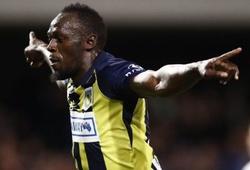 Chưa kịp vui với cú đúp đầu tiên của sự nghiệp bóng đá, Usain Bolt bức xúc vì phải đi xét nghiệm doping