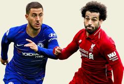 Eden Hazard và Mo Salah so kè quyết liệt về thống kê rê dắt bóng ở Ngoại hạng Anh 2018/19
