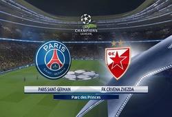 Nhận định tỷ lệ cược kèo bóng đá tài xỉu trận PSG vs Crvena Zvezda